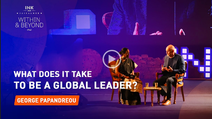 George Papandreou: What does it take to be a global leader?