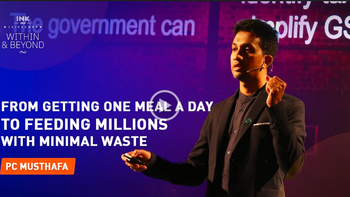 PC Musthafa: From Getting One Meal a Day to Feeding Millions with Minimal Waste