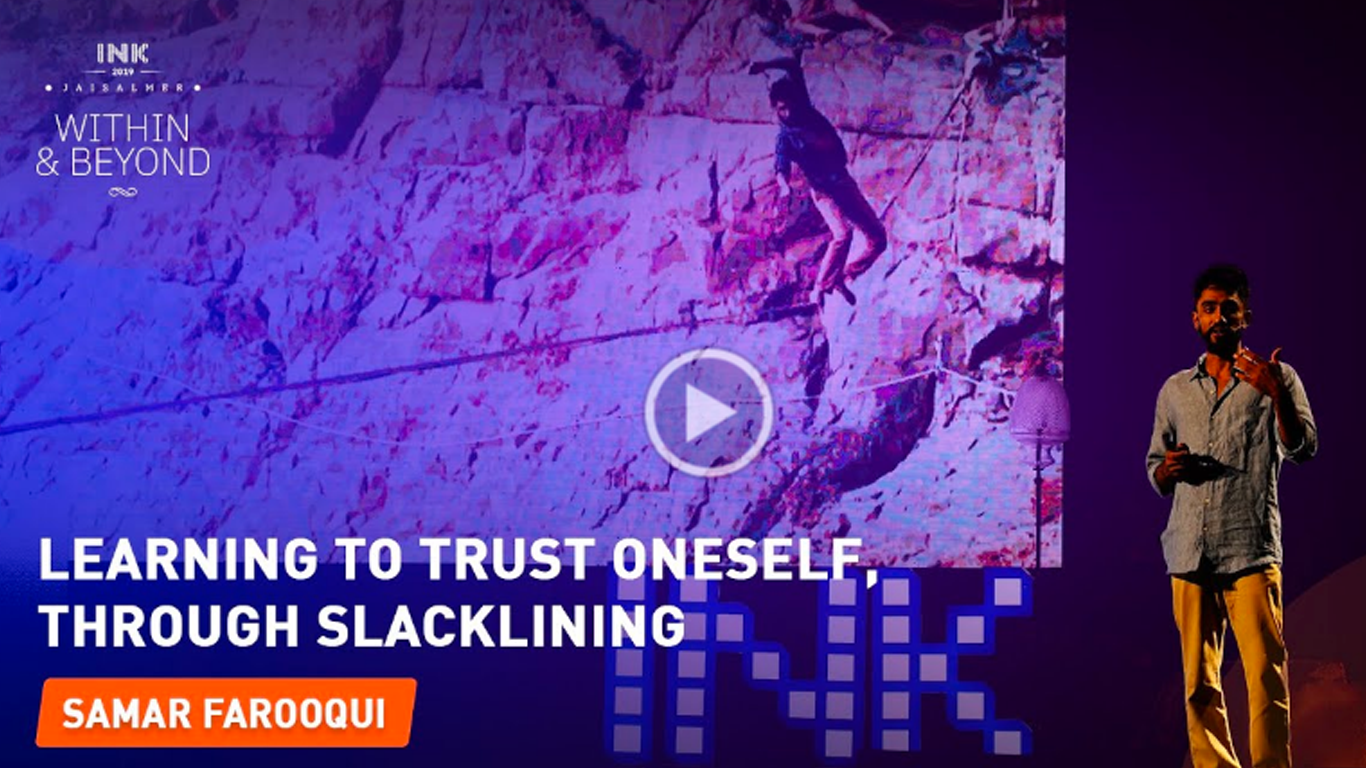 Samar Farooqui: Learning to trust oneself, through slacklining