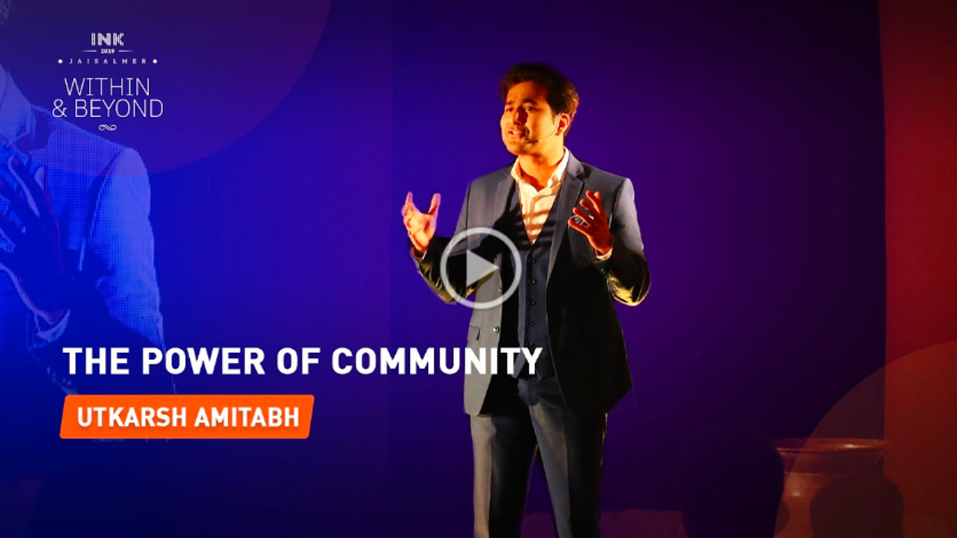 Utkarsh Amitabh: The Power of Community
