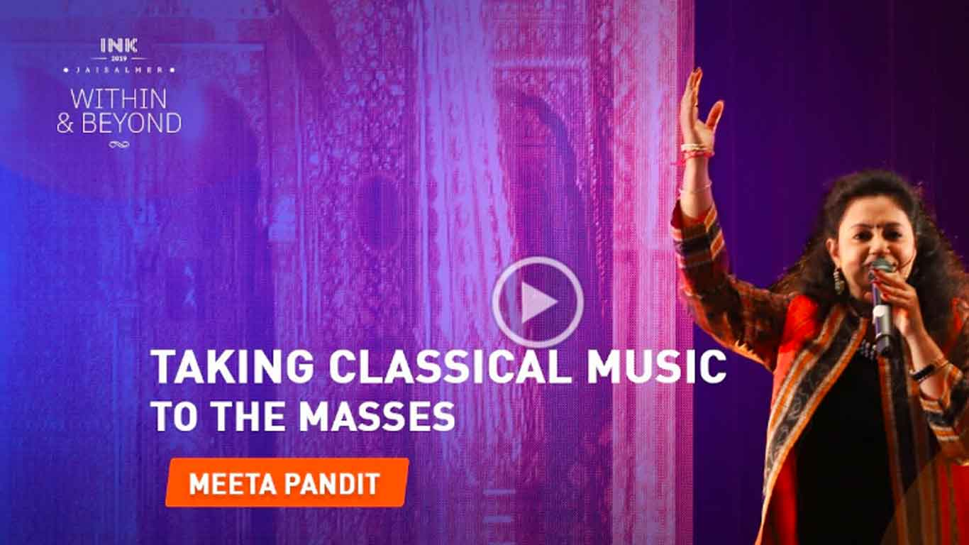 Meeta Pandit: Taking classical music to the masses