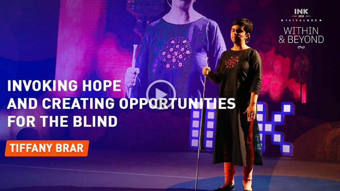 Tiffany Brar: Invoking Hope and Creating Opportunities for the Blind
